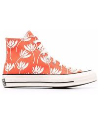 scarpe donna sneakers alte converse