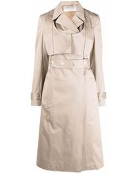 1017 ALYX 9SM Long Cotton Trench Coat - Natural