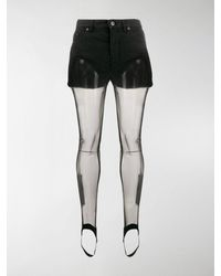 Y. Project Shorts With Tights - Black