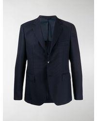 Mp Massimo Piombo Slim Fit Suit - Blue