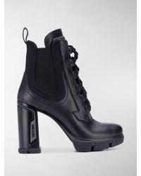 Prada - Mountain Boots - Lyst