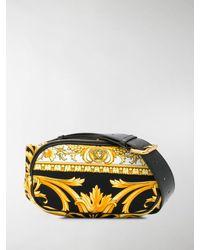 Versace Gürteltasche mit Barock-Print - Gelb