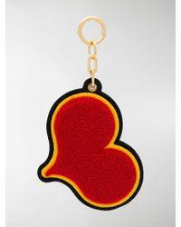 Chaos Portachiavi a forma di cuore - Multicolore