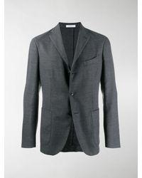 Boglioli Slim Fit Blazer - Gray