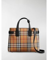 Burberry - Vintage Check Banner Bag - Lyst
