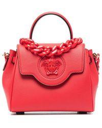 Versace Borsa La Medusa piccola - Rosso