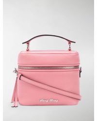 Miu Miu - Madras Bucket Bag - Lyst