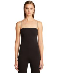 Wolford One Piece Catsuit - Black