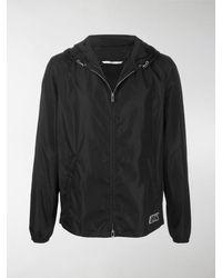 Valentino - Vltn Patch Hooded Jacket - Lyst