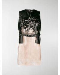 Comme des Garçons Deconstructed Sleeveless Top - Black