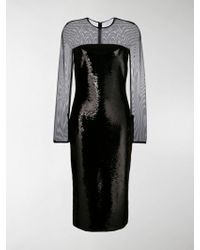 Tom Ford Fitted Midi Dress - Black