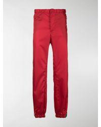 Prada - Straight-leg Trousers - Lyst