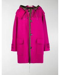 Marni - Oversized Hooded Coat - Lyst