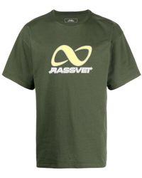 Rassvet (PACCBET) T-shirt con stampa - Verde