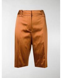 Prada Duchesse Bermuda Shorts - Brown