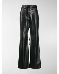 Nanushka Chimo Flared Pants - Black