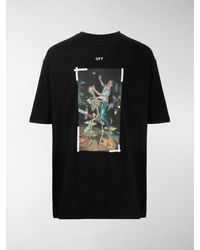Off-White c/o Virgil Abloh - T-shirt con stampa - Lyst