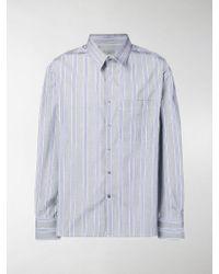 Lanvin - Camicia a righe - Lyst