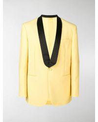 CALVIN KLEIN 205W39NYC Tuxedo Jacket - Yellow