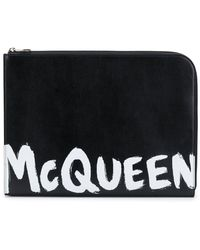 Alexander McQueen Briefcase - Black