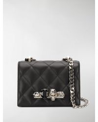 Alexander McQueen - Embellished Quilted Crossbody - Lyst