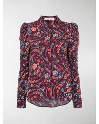 See By Chloé - Flower Printed Blouse - Lyst