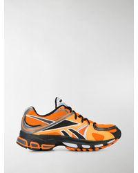 Vetements X Reebok 'Spike 200' Sneakers - Orange