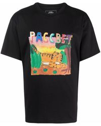 Rassvet (PACCBET) T-shirt con stampa - Nero