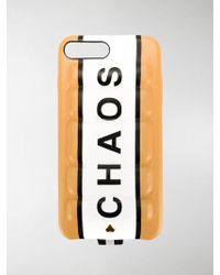Chaos Padded Iphone 8 Case - Multicolour