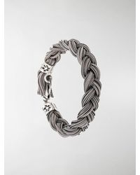 Emanuele Bicocchi Rope Chain Bracelet - Metallic