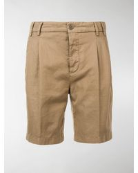 Aspesi Straight-leg Shorts - Natural