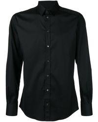 Dolce & Gabbana Klassisches Hemd - Schwarz