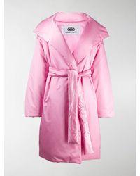 Balenciaga Oversized Puffer Coat - Pink