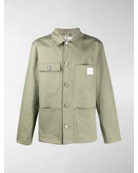 A.P.C. X Carhartt Military Shirt - Green