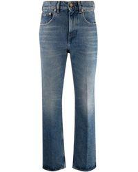 Golden Goose Deryn High-waisted Flared Jeans - Blue