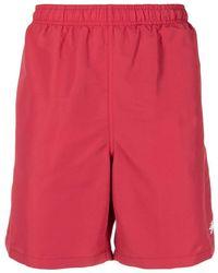 Stussy Logo-print Swim Shorts - Red