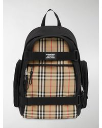 Burberry - Nevis Vintage Check Panel Backpack - Lyst