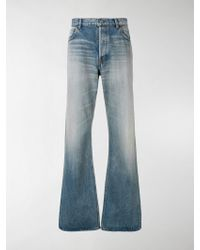 Balenciaga Relaxed Fit Jeans - Blue
