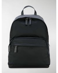 Prada Logo Backpack - Black