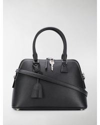 Maison Margiela Medium Top Handles Tote - Black