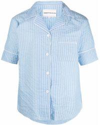 Youths in Balaclava Hemd im Pyjama-Stil - Blau