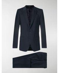 Dolce & Gabbana Klassischer Anzug - Blau