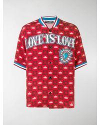 Dolce & Gabbana - Devozione Soccer Shirt - Lyst