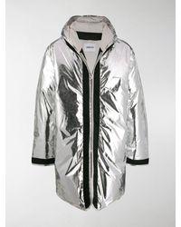Ambush Metallic Down Jacket - Gray