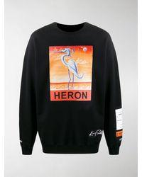 Heron Preston - Sweatshirt mit Vogel-Print - Lyst