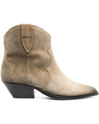 Isabel Marant Dewina 40mm Ankle Boots - Multicolour