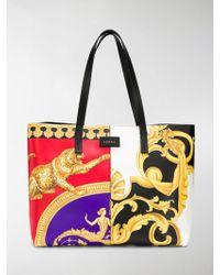 Versace - Borsa a spalla con stampa barocca - Lyst