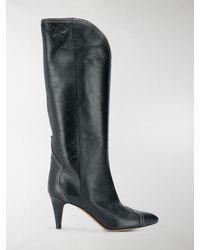 Isabel Marant Lestan Knee-high Boots - Black