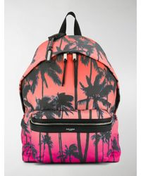 Saint Laurent City Backpack - Orange