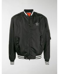 Valentino Vltn Star Bomber Jacket - Black